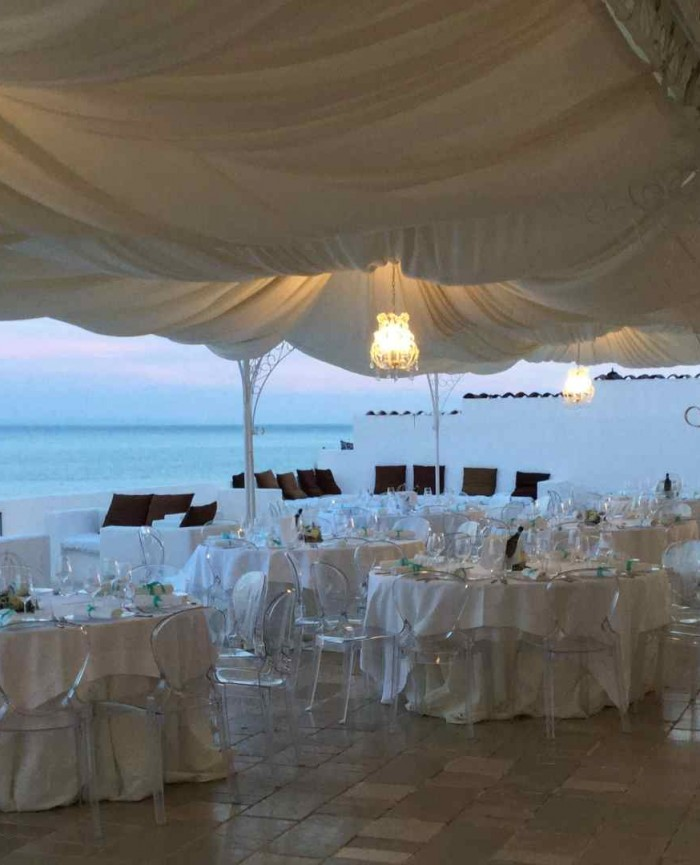 Hotel 4 stelle spiaggia privata con camere vista mare